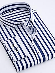 levne -Pánské - Proužky Business Košile