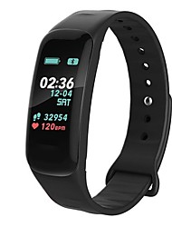 cheap -Smart Bracelet YY-F602 for Android 4.4 / iOS Calories Burned / Pedometers / Blood Pressure Measurement Pulse Tracker / Pedometer /
