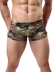 abordables -Homme Boxers camouflage Taille Basse