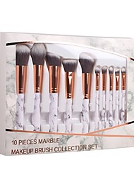 cheap -10-Pack Makeup Brushes Professional Makeup Brush Set / Blush Brush / Eyeshadow Brush Nylon / Synthetic Hair Eco-friendly / Professional /