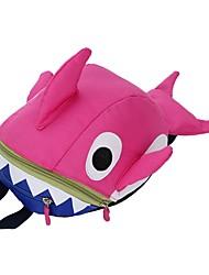 Недорогие -Универсальные Мешки Нейлон рюкзак Молнии для Повседневные Красный / Желтый / Пурпурный