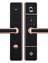 cheap -PINEWORLD Q303 Intelligent Lock Smart Home Security System Burglar alarm / Fingerprint unlocking / Password unlocking Household / Home / Home / Office Security Door / Copper Door / Wooden Door