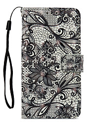 cheap -Case For Xiaomi Redmi Note 5A Redmi Note 4X Card Holder Wallet with Stand Flip Pattern Full Body Cases Lace Printing Hard PU Leather for