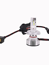 preiswerte -2pcs H4 Auto Leuchtbirnen 100W Integrierte LED 10000lm 4 LED Scheinwerfer For Universal Alle Modelle