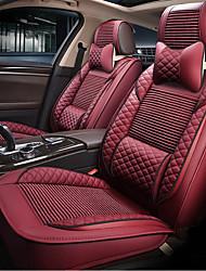 Недорогие -ODEER Подушки для подголовника и талии Красный текстильный Кожа PU Общий for Универсальный Все года Все модели