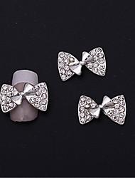 رخيصةأون -10 pcs متعددة الوظائف سبيكة معدنية مجوهرات الأظافر من أجل خلاق فن الأظافر تجميل الأظافر والقدمين مناسب للبس اليومي شائع / موضة