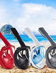 levne -Potápěčské masky Bez zamlžování Kompatibilní s GoPro Odolné proti rozbití Plavání Potápění Šnorchlování Silica gel PP+ABS