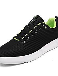 お買い得  -男性用 靴 PUレザー 春 夏 コンフォートシューズ スニーカー のために カジュアル ブラック レッド ブルー