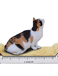 cheap -Scratch Pad Multi Color Scratch Pad Help to lose weight Catnip Cardboard Paper For Cats