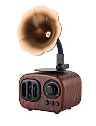 economico -A90S Altoparlante Bluetooth Bluetooth 3.0 USB Slot scheda TF Casse acustiche da supporto o da scaffale Giallo Marrone