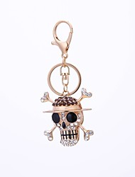 cheap -Keychain Jewelry Gold Skull Alloy Ordinary Vintage Gift Daily
