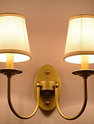 preiswerte -Sichtschutz Rustikal / Ländlich Wandlampen Wohnzimmer / Schlafzimmer Metall Wandleuchte 20W
