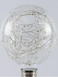 abordables -1pc 5 W - E26 / E27 Ampoules Globe LED 20 Perles LED SMD Décorative / Cool / Étoilé Blanc Chaud / Blanc Froid / Multicolores 85-265 V