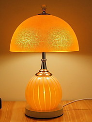 cheap -Traditional/Classic Decorative Table Lamp For Glass White Blushing Pink Yellow
