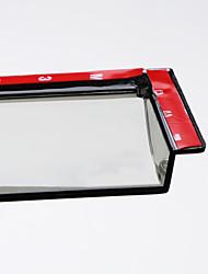 abordables -4pcs Voiture Déflecteurs et boucliers transparent Type de boucle / Type de pâte For Fenêtre de voiture For Hyundai New Tucson 2018 / 2017