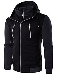 cheap -Men's Basic Jacket - Color Block