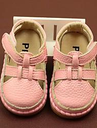 povoljno -Djevojčice Dječaci Cipele Koža Ljeto Cipele za bebe Sandale za Kauzalni Obala Bijela Pink