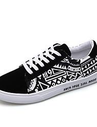 abordables -Homme Chaussures Toile Printemps / Eté Confort / Chaussures de plongée Basket Noir / Rouge / Bleu