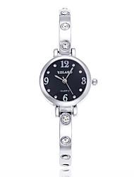 abordables -Mujer Reloj Casual Chino La imitación de diamante Acero Inoxidable Banda Moda / Minimalista Plata / Dorado