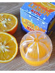 baratos -Utensílios de cozinha Plásticos Mini Gadget de Cozinha Criativa Ferramentas Para utensílios de cozinha Fruta Espremedor 1pç