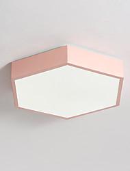baratos -JLYLITE Montagem do Fluxo Luz Ambiente - Estilo Mini, 110-120V / 220-240V, Branco Quente / Branco, Fonte de luz LED incluída / 20-30㎡