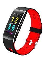 cheap -Smartwatch F01 for Android 4.4 / iOS Calories Burned / Bluetooth / Touch Sensor / Pedometers / APP Control Pulse Tracker / Pedometer / Call Reminder / Activity Tracker / Sleep Tracker / Alarm Clock