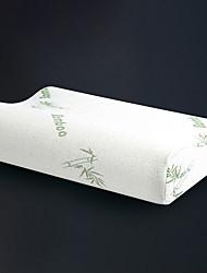 Недорогие -Комфортное качество Запоминающие форму подушки для шеи Стрейч / удобный подушка Пена с памятью / Пух серого гуся Полиэстер / Хлопок
