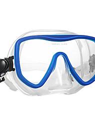 abordables -WAVE Masque de Snorkeling / Masque de Nage Antibrouillard, Etanche Deux-fenêtre - Natation, Plongée Caoutchouc silicone, Verre Trempé -