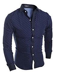 voordelige -Heren Standaard Overhemd Bloemen