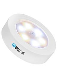 Недорогие -BRELONG® 1шт LED Night Light Теплый белый + белый USB Сенсорный датчик Подсветка для авто <5V