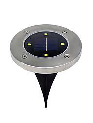 cheap -BRELONG® 1pc 5W Lawn Lights Solar Waterproof Light Control Outdoor Lighting Warm White White 1.5V