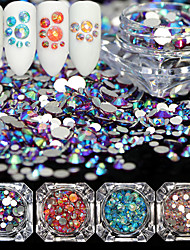 preiswerte -4pcs Elegant & Luxuriös Strahlend & Funkelnd Kristall Luxus Modisches Design Spritzig Kristall / Rhinestone-Art Strass Kristalle Hochzeit
