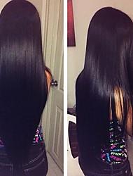 abordables -Cheveux Brésiliens Droit Tissages de cheveux humains 3pcs Doux Soyeux 100% vierge Grosses soldes Extensions Naturelles One Pack Solution