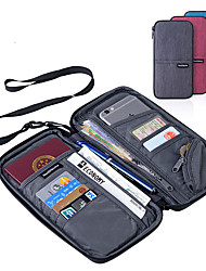 cheap -Passport Holder & ID Holder Portable Multi-function Luggage Accessory Polyester 22.5*12cm cm