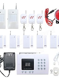 cheap -YA-601-PSTN-1 Wireless Home Alarm Systems PSTN Platform PSTN Remote Controller 433 Hz for Home