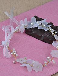abordables -Tul / Perla Artificial Tocados con Perlado Artificial 1pc Boda / Cumpleaños Celada