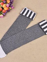 cheap -Girls' Socks & Stockings, Summer Cotton Polyester White Black Gray