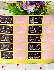baratos -Romance Etiquetas, Etiquetas e tags - 20pcs Retângular Autocolantes Todas as Estações