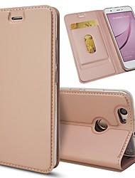preiswerte -Hülle Für Huawei Nova 2 Nova Kreditkartenfächer mit Halterung Flipbare Hülle Ganzkörper-Gehäuse Solide Hart PU-Leder für Nova 2 Plus Nova