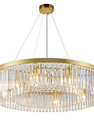 billige -QIHengZhaoMing Lysestager Baggrundsbelysning - Krystal, Chic & Moderne, 110-120V 220-240V, Varm Hvid, Pære Inkluderet