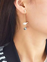 cheap -Women's Bird Drop Earrings - Casual / Fashion Gold Earrings For Daily / Date