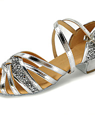 cheap -Girls' Shoes PU Summer Comfort Sandals for Casual Gold / Silver