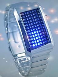 Недорогие -Муж. Для пары Цифровой Модные часы Спортивные часы Повседневные часы Китайский Повседневные часы Фосфоресцирующий сплав Группа Роскошь На