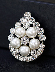 cheap -Women's Brooches - Pearl European, Fashion Brooch Gold / Silver For Wedding / Daily