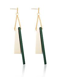 cheap -Women's Geometric Drop Earrings - Fashion Gray / Green For Evening Party / Formal