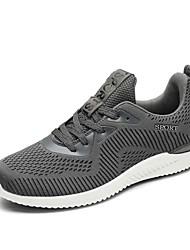 お買い得  -男性用 靴 チュール 夏 コンフォートシューズ アスレチック・シューズ ウォーキング のために スポーツ ブラック グレー ブルー ブラック / レッド
