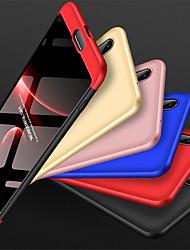 Недорогие -Кейс для Назначение Huawei P20 Pro Защита от удара Чехол Однотонный Твердый ПК для Huawei P20 Pro