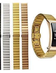 Недорогие -Ремешок для часов для Huawei B3 Huawei Бабочка Пряжка Нержавеющая сталь Повязка на запястье