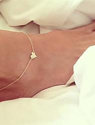 baratos -Tornezeleira - Coração Boêmio, Bikini, Fashion Dourado / Prata Para Presente Para Noite Mulheres