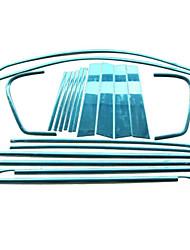 abordables -20 pièces Argent Autocollant pour auto Business Garniture de fenêtre Non spécifié Garniture de fenêtre